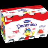 Danonino Jogurttijuoma Mansikka 8-pakkaus